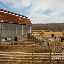 JG Coleman - Yankee Farmlands No. 56 - Horse Farm in New England