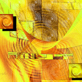 Iris Gelbart - Yellow and Rust