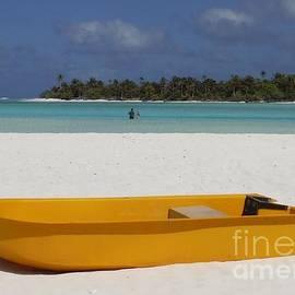 Barbie Corbett-Newmin - Yellow Boat in South Pacific