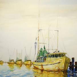 Shirley Sykes Bracken - Yellow Boats