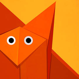 Boriana Giormova - Yellow Cute Origami Fox