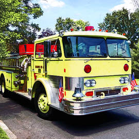 Susan Savad - Yellow Fire Truck