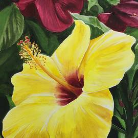 Janine Ferranti - Yellow Hibiscus