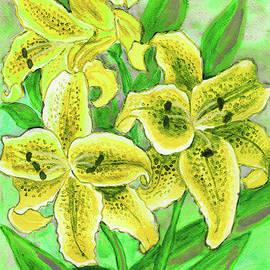 Irina Afonskaya - Yellow lilies