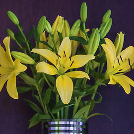 Roberta Byram - Yellow Lilies