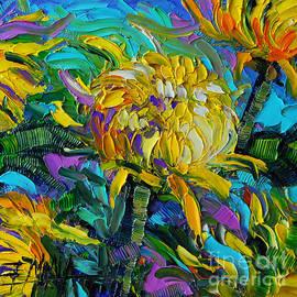 Mona Edulesco - Yellow Mums