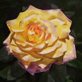 Angelina Sofronova - Yellow rose