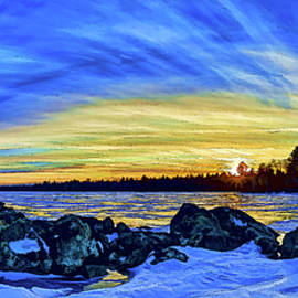ABeautifulSky Photography - Yellow Sunset at Meddybemps