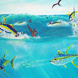 Ken Figurski - Yellowfin Frenzy