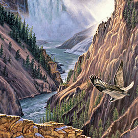 Yellowstone Canyon-Osprey - Paul Krapf