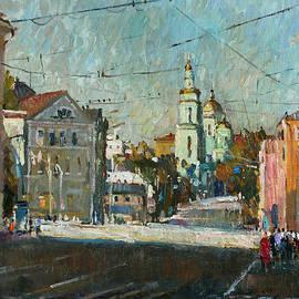 Juliya Zhukova - Yelokhovo Cathedral in Moscow