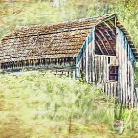 Jean OKeeffe Macro Abundance Art - Yesteryear Barn