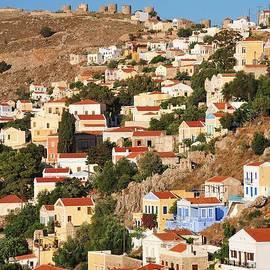 David Fowler - Yialos town on Symi island