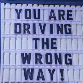 You Are Driving The Wrong Way - Garry Gay
