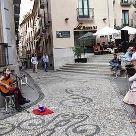 Madeline Ellis - Young Girl Listening To Guitar - Grenada - Spain