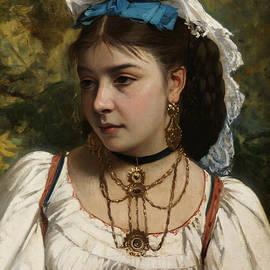 Young Italian Woman - Leonardo Gasser