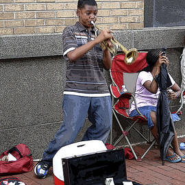 Walter Oliver Neal - Young Trumpet Player