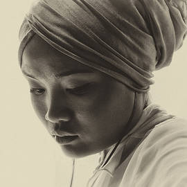 Sheila Smart - Young woman in turban