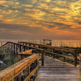 Reid Callaway - Your Adventures Start Here Sunrise Tybee Island Georgia Art