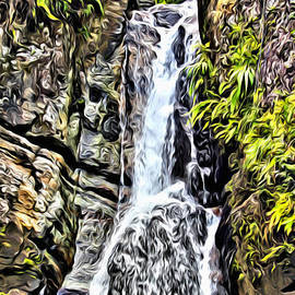 Yunque waterfall - Carey Chen