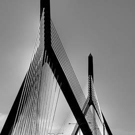Joann Vitali - Zakim Bridge Black and White - Boston