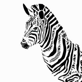 Saundra Myles - Zebra Mosaic
