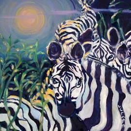 Julie Todd-Cundiff - Zebras on the Savanna