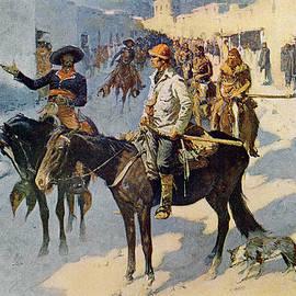 Zebulon Pike Entering Santa Fe - Frederic Remington