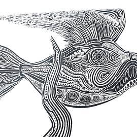 Steve  Hester - Zentangle Fish