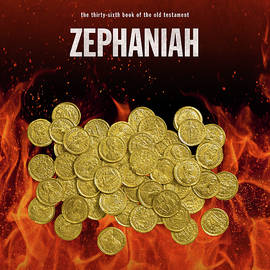 Zephaniah Books Of The Bible Series Old Testament Minimal Poster Art Number 36 - Design Turnpike