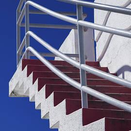 David Smith - Zig Zag Stairs San Francisco