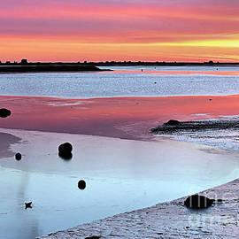Janice Drew - Zigzag Reflections at Sunrise