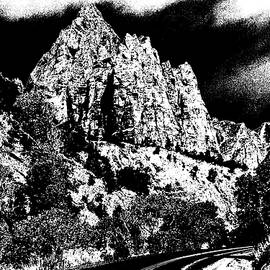 Art America Online Gallery - Zion National Park Utah - Ink