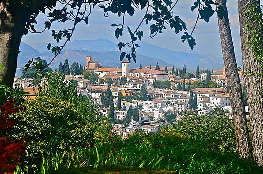Spanish Granada  by Dorota Nowak