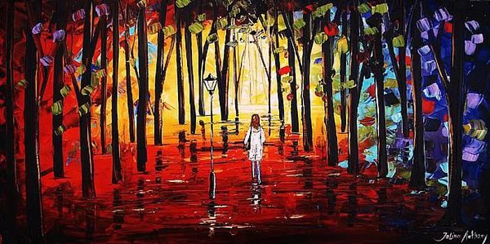 The Walk   by Jolina Anthony