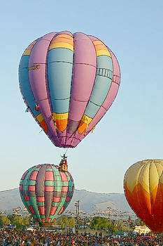 Hot Air Balloons IV by Larry Small