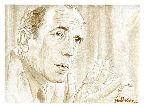Humphrey Bogart by David Iglesias
