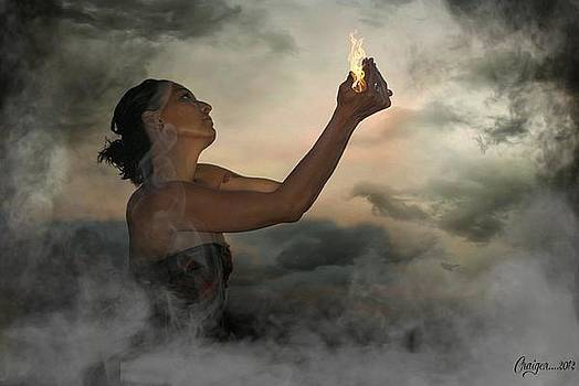 I offer my flame unto you by Craiger Martin