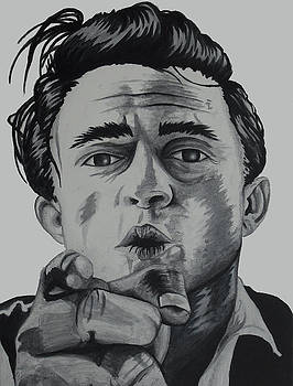 Johnny Cash by Holly Hunt