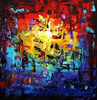 Large Painting by Jolina Anthony
