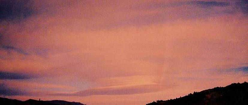 Lenticular Sunset by Jacquelyn Roberts
