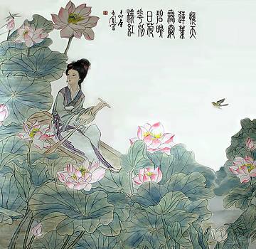 Lotus Pond by Yufeng Wang