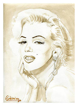 Marilyn Monroe by David Iglesias
