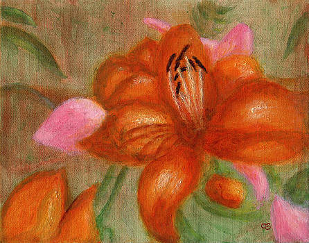 Orange Lily by Arlene Babad