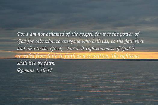 Scripture Sunset by Karen Kelsey