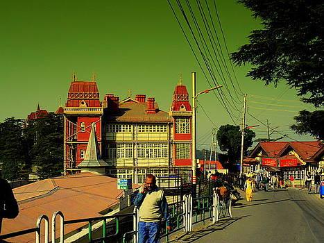 Shimla Mall road by Salman Ravish
