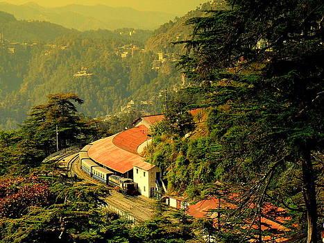 Shimla Toy Train by Salman Ravish