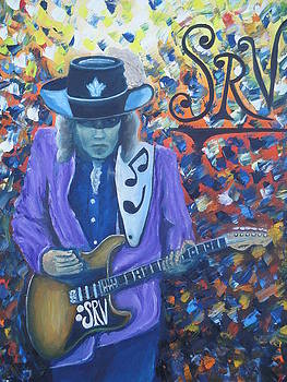 Stevie Ray Vaughan by Charles Vaughn