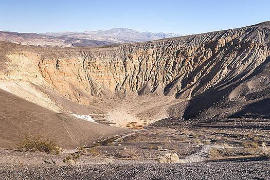 Ubehebe Crater by Muhie Kanawati
