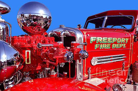 1949 Ahrens Fox Piston Pumper Fire Truck by Jim Carrell
